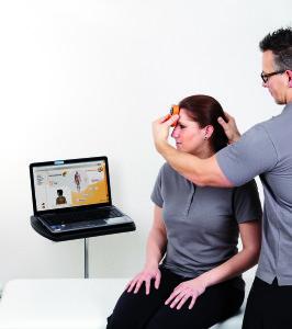 Mobilitätsmessung, Beweglichkeitstestung bei medifitness Meinersen