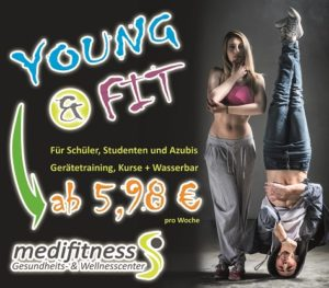Banner Young & Fit